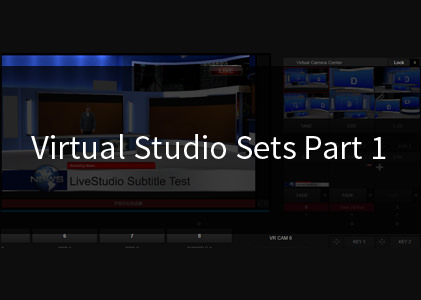 Trackless 360° Virtual Studio Sets